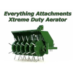 Everything Attachments Xtreme Duty Lawn Aerator