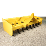 High Horsepower Grader Clearing Blade